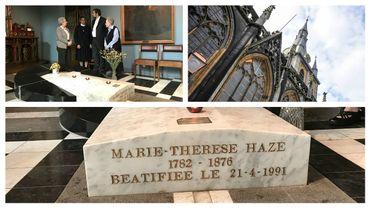 Évènement international à Liège: la bienheureuse Mère Marie-Thérèse Haze va être déplacée