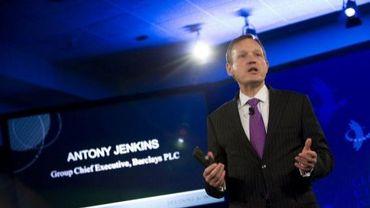 Le patron de la banque britannique Barclays Antony Jenkins à New York, le 23 septembre 2012