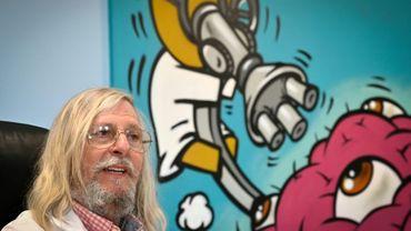 Le professeur Didier Raoult à Marseille, le 20 mars 2020.