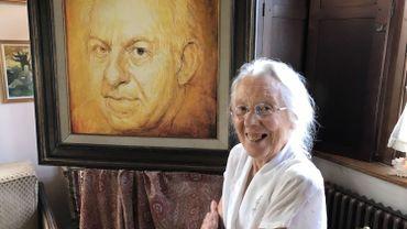 Jeanine Burny, la muse et la gardienne du poète wavrien Maurice Carême disparu il y a 40 ans