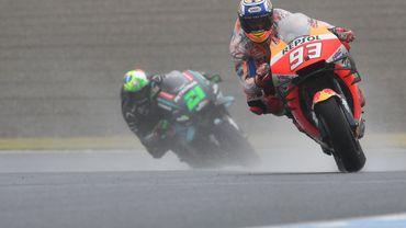 La pluie s'invite aux essais du GP du Japon, Petrucci le plus rapide des EL3