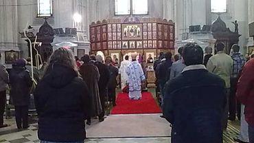 Ce dimanche, on célébrait la dernière messe en l'église Sainte-Catherine.