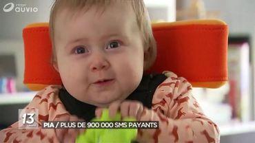 Pia aura bientôt un an et ne pouvait toujours pas effectuer ces gestes simples.