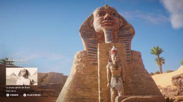 Le Discovery Tour d'Assassin's Creed permet de se balader librement dans l'Egypte antique