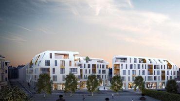 Ce n'est pas l'idée de construire du logement, du parking et des commerces à cet endroit qui est contestée, mais plutôt le caractère particulièrement massif de l'ensemble.