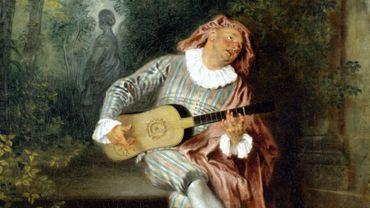"Jean-Antoine Watteau - ""Mezzetin"" - Metropolitan Museum of Art"