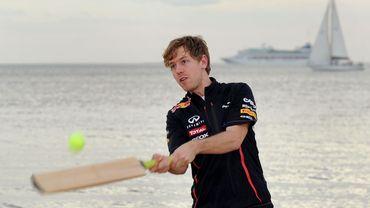 Sebastian Vettel à Melbourne