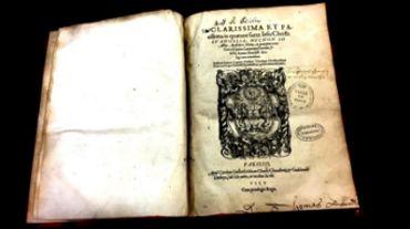 Un Livre Du Xvie Siecle Vole A Mons Est Retrouve A Rome