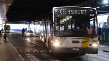Les conducteurs de bus De Lijn ne s'arrêteront de nouveau plus à la gare de Bruxelles-Nord
