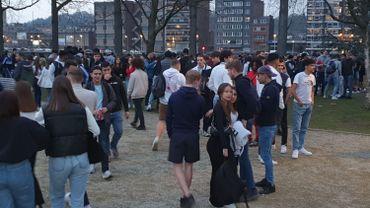 Ici, un rassemblement organisé dans le parc de Boverie, à Liège.