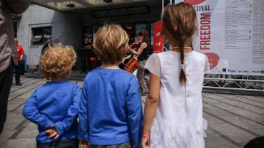 Les Kids au Festival Musiq'3