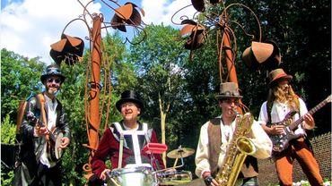 Les Folk Dandies, le samedi au Festival les Tchafornis
