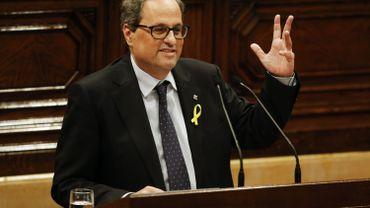 Catalogne: pas de majorité absolue pour Quim Torra, second tour lundi