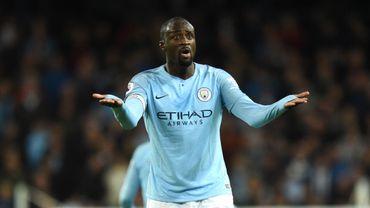 Yaya Touré a quitté Manchester City en 2018 (archive)