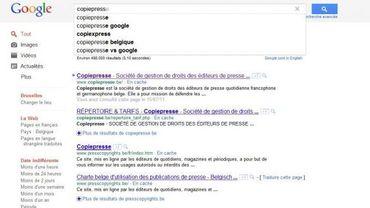 Google référence à nouveau les sites de quotidiens francophones