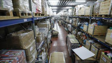 La douane a mis la main sur des millions de cigarettes de contrefaçon à Zeebrugge