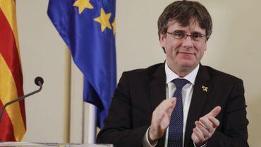 L'indépendantiste catalan Carles Puigdemont annonce sa candidature aux élections européennes