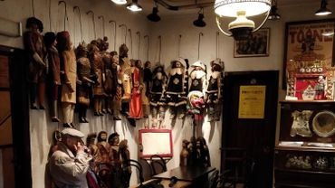 Le musée du théâtre de Toone, au premier étage du théâtre, va lui aussi s'agrandir