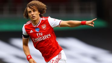 David Luiz sous la vareuse d'Arsenal