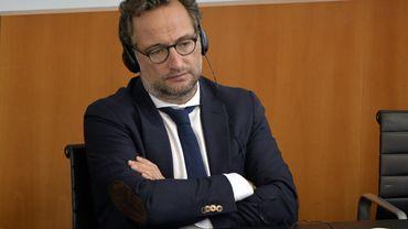 Boris Dilliès, député bruxellois MR.