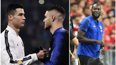 CR7 vote Icardi plutôt que Lukaku à la Juve, l'Inter à l'affût