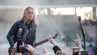 Metallica le 16 juin 2019 au stade Roi Baudouin