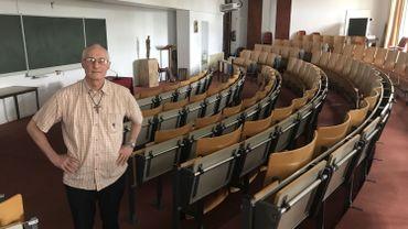 Le père Bernard Pottier fut longtemps professeur de Philosophie et de Théologie à l'IET