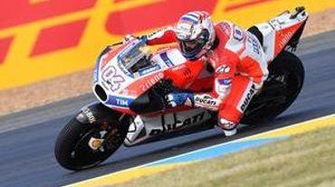 #FrenchGP, MotoGP, FP2 : Dovi et Ducati surfent sur le Bugatti