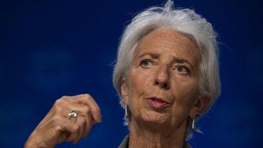 Christine Lagarde, directrice générale du Fonds Monétaire International, à Washington DC le 14 juin 2018