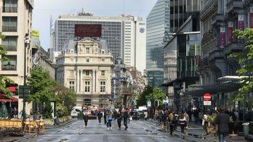 Le réaménagement des boulevards du centre de Bruxelles en débat devant la commission de concertation