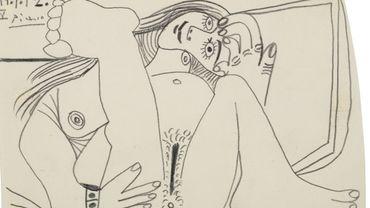 """""""Nu couché"""" par Pablo Picasso"""