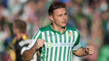 Joaquin Sanchez Rodriguez, le médian espagnol de 38 ans du Real Betis