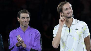 Rafael Nadal et Daniil Medvedev
