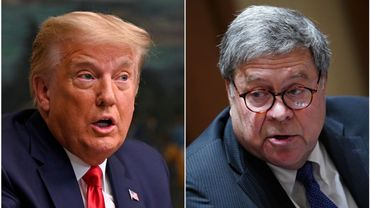 """Donald Trump contredit par son ministre de la Justice qui n'a pas """"vu de fraude"""" dans l'élection"""