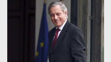 Le gouverneur de la Banque de France, Christian Noyer, le 25 juin 2012 à Paris