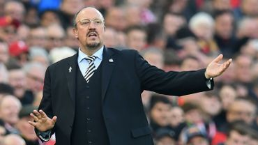 Rafa Benitez est le nouveau coach de Yannick Carrasco au Dalian Yifang
