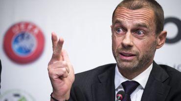 Aleksander Ceferin, président de l'UEFA, envisage d'utiliser le ranking des clubs comme critère de qualification aux compétitions européenne