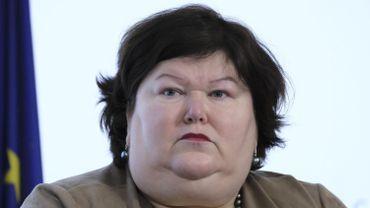La ministre fédérale des Affaires sociales Maggie De Block