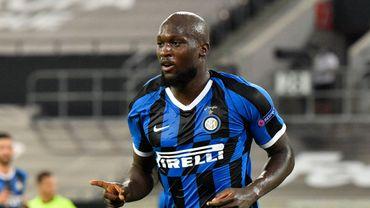 Romelu Lukaku sous le maillot de l'Inter.