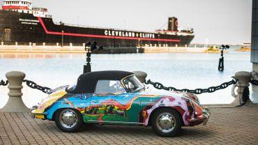 La Porsche psychédélique de Janis Joplin aux enchères en décembre à New York