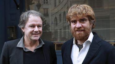 Yannick Haenel et Paolo Cognetti