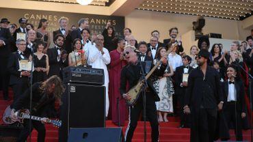 Concert de Sting et Shagy, en clôture de la cérémonie de la remise des prix