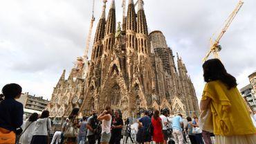 Barcelone renforce la sécurité des sites touristiques, comme la Sagrada Familia