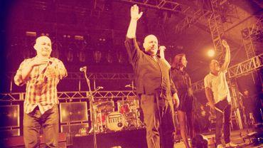 Les Pixies en concert à Coachella en avril 2014