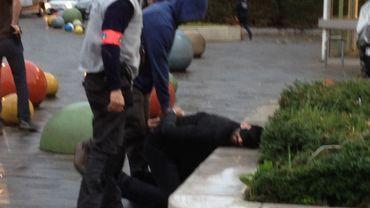 L'un des hommes arrêtés ce samedi à Molenbeek.