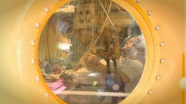 Le Chru de Lille diospose d'un caisson hyperbare pour réoxygéner le sang des victimes (photo prétexte)
