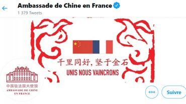 Coronavirus : Les inquiétants tweet de l'ambassade de Chine en France