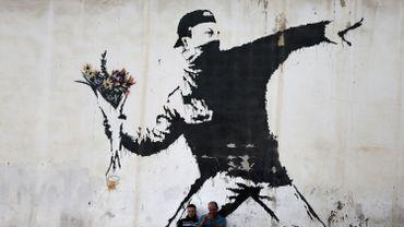 """Banksy vient de perdre une de ses marques pour cause de """"mauvaise foi"""""""