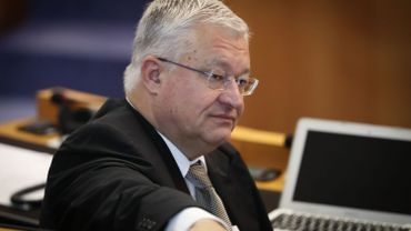Le ministre bruxellois du Budget Guy Vanhengel (Open Vld)