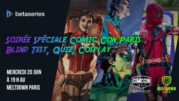 """""""La théorie du Y"""" sélectionnée pour le Prix BetaSeries au Comic Con"""